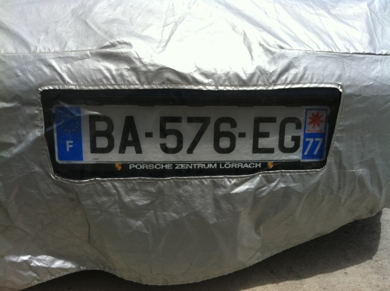 Bache + étui  Porsche Boxster  88€ Img_1616