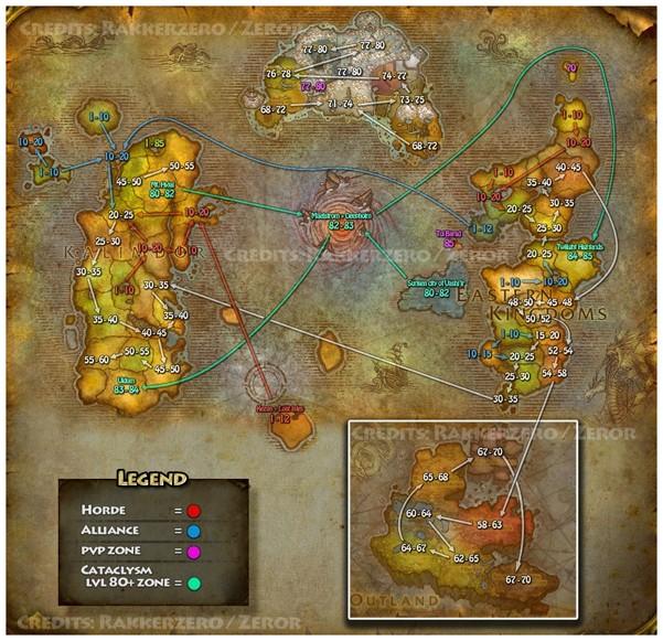 Mapa del Mundo - WoW Wow_ca10