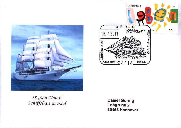 Schiffe im Stempel Schiff10