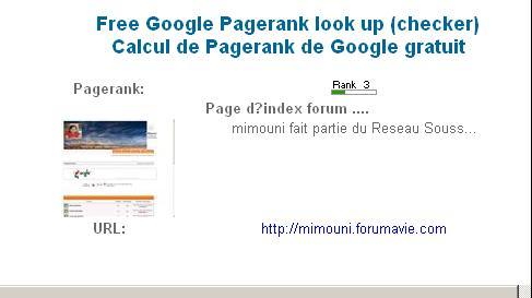 mimouni - Connaitre la Page Rank de votre site Pr_mim10