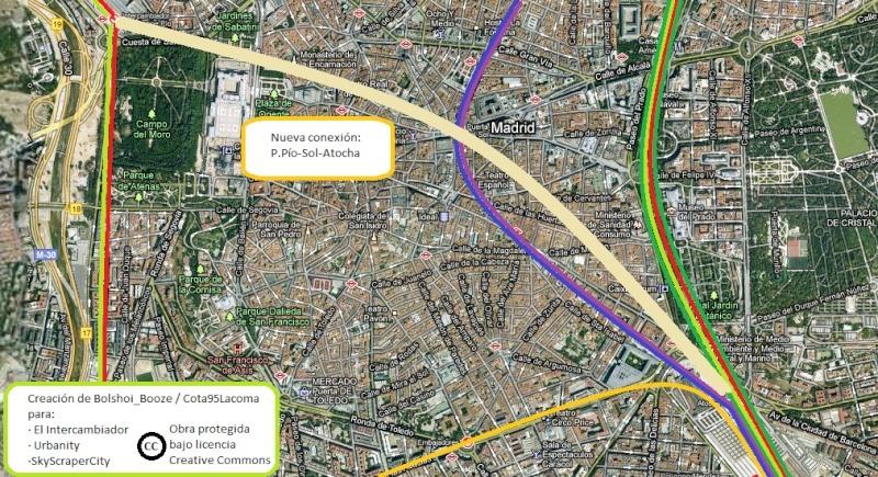 Mi propuesta: Conexión Príncipe Pío - Sol - Atocha Conexi10