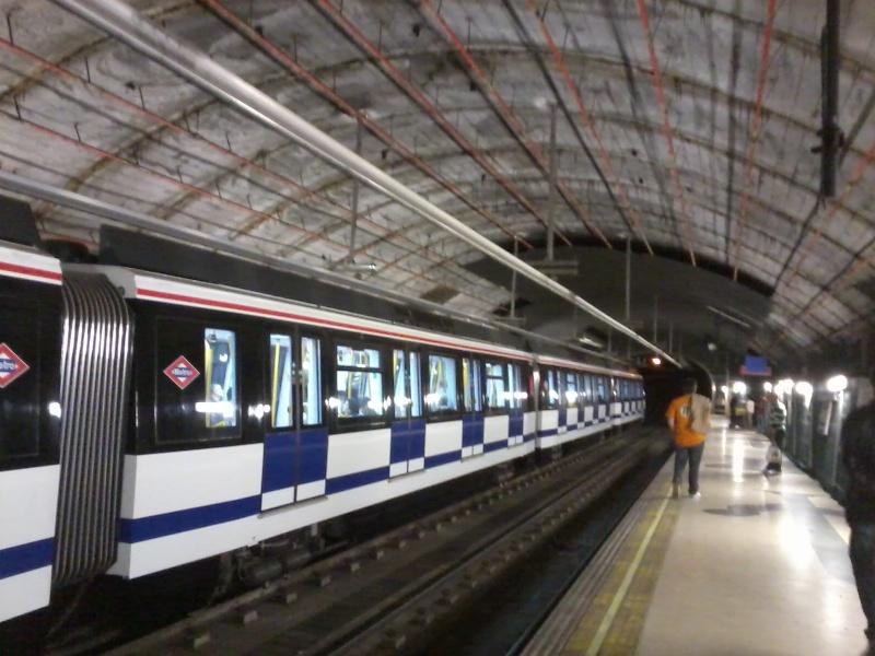 Obras en Metro de Madrid Foto3212