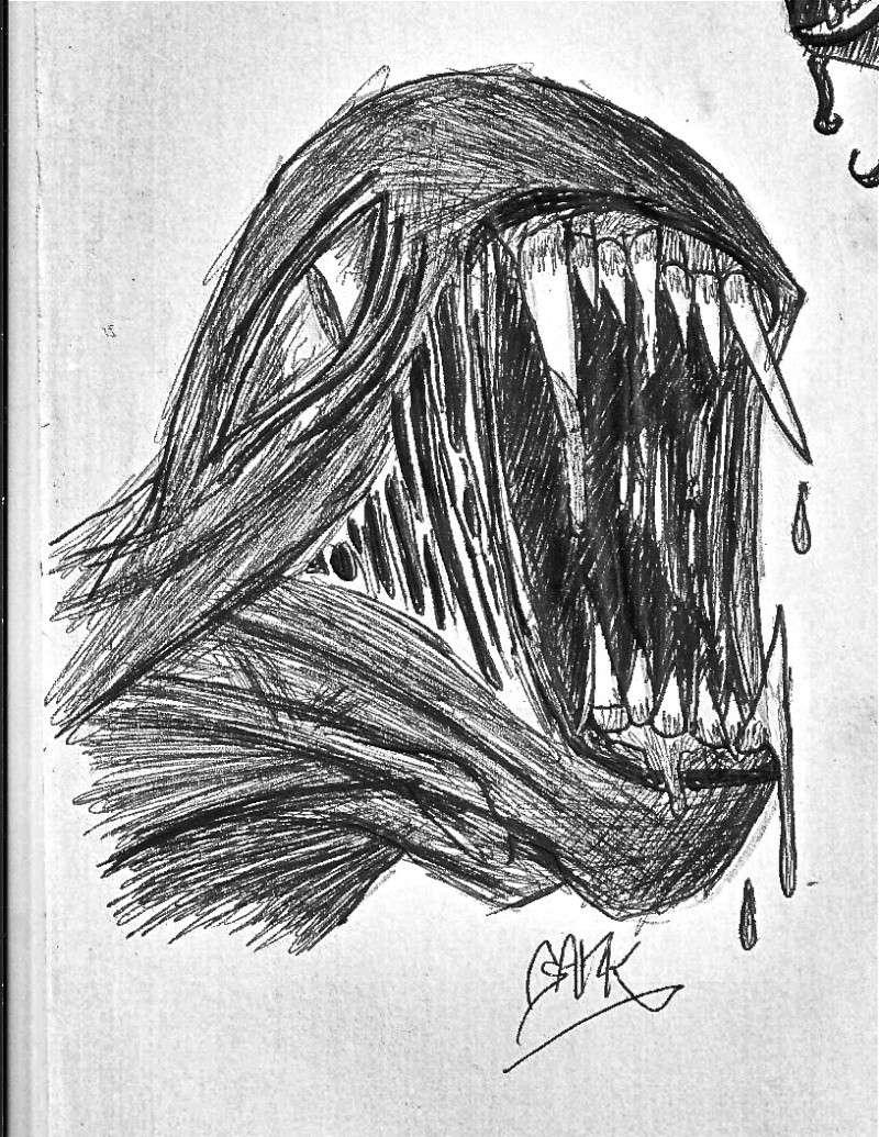Début dans le domaine de l'horreur :D Monstr13