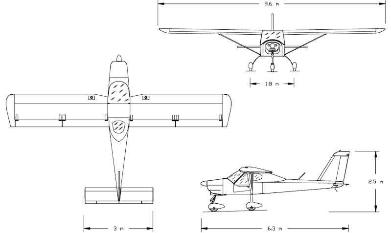 Tecnam-P92-Echo 3d10