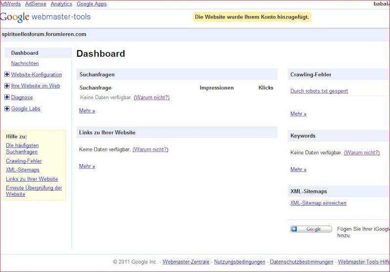meta tags was muß ich da einfügen  bei name attribut und content attribut? Google10