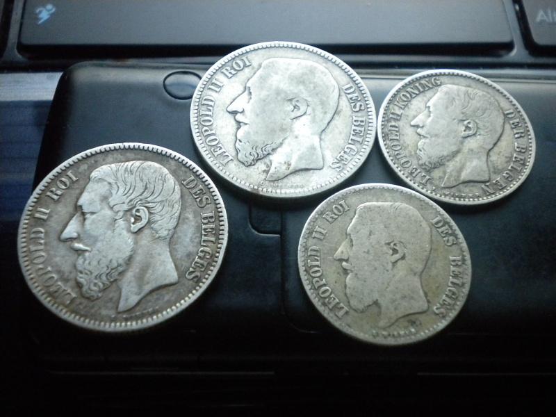1 et 2 francs leopold 2 Dscn4027