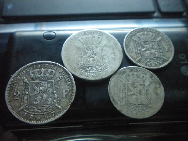 1 et 2 francs leopold 2 Dscn4028