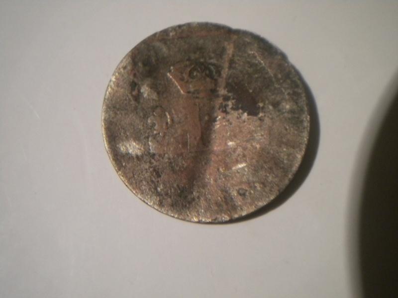 """Louis XIIII monnaie de trente deniers dite """"mousquetaire"""" (1709-1713). Dscn4412"""
