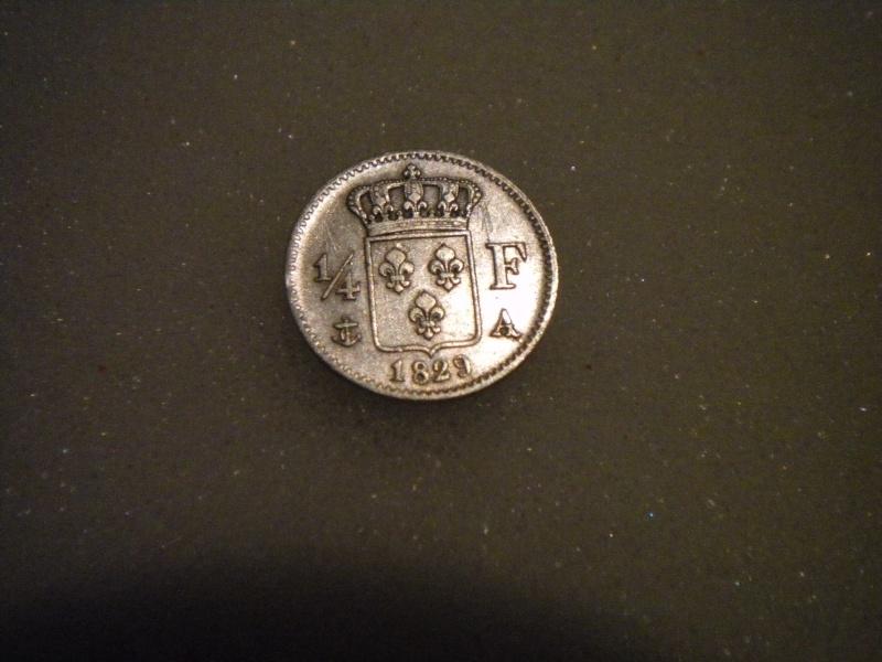 joli 1/4 de franc charles X  1829A Dscn4425