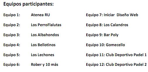 TORNEO SOLIDARIO CARNICAS IGLESIAS FUTBOL 7 (JUN-2011)- SORTEO Equipo10