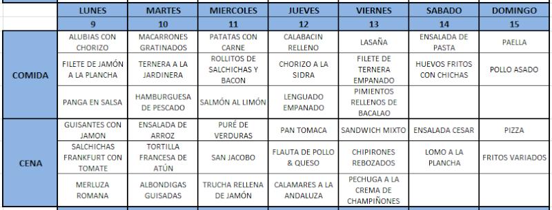 Menú de la semana (9-May A 15-May 2011) Menas10