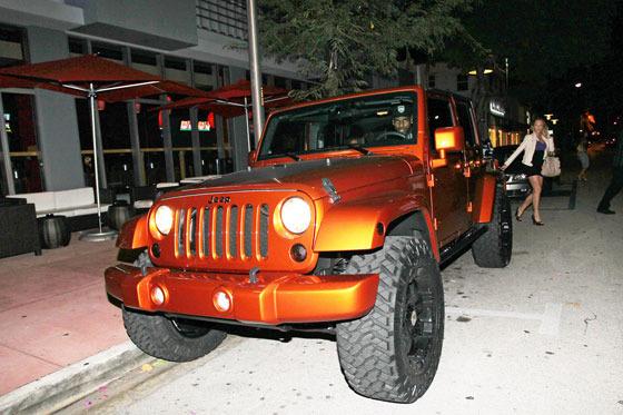 VIP in Jeep Lebron10