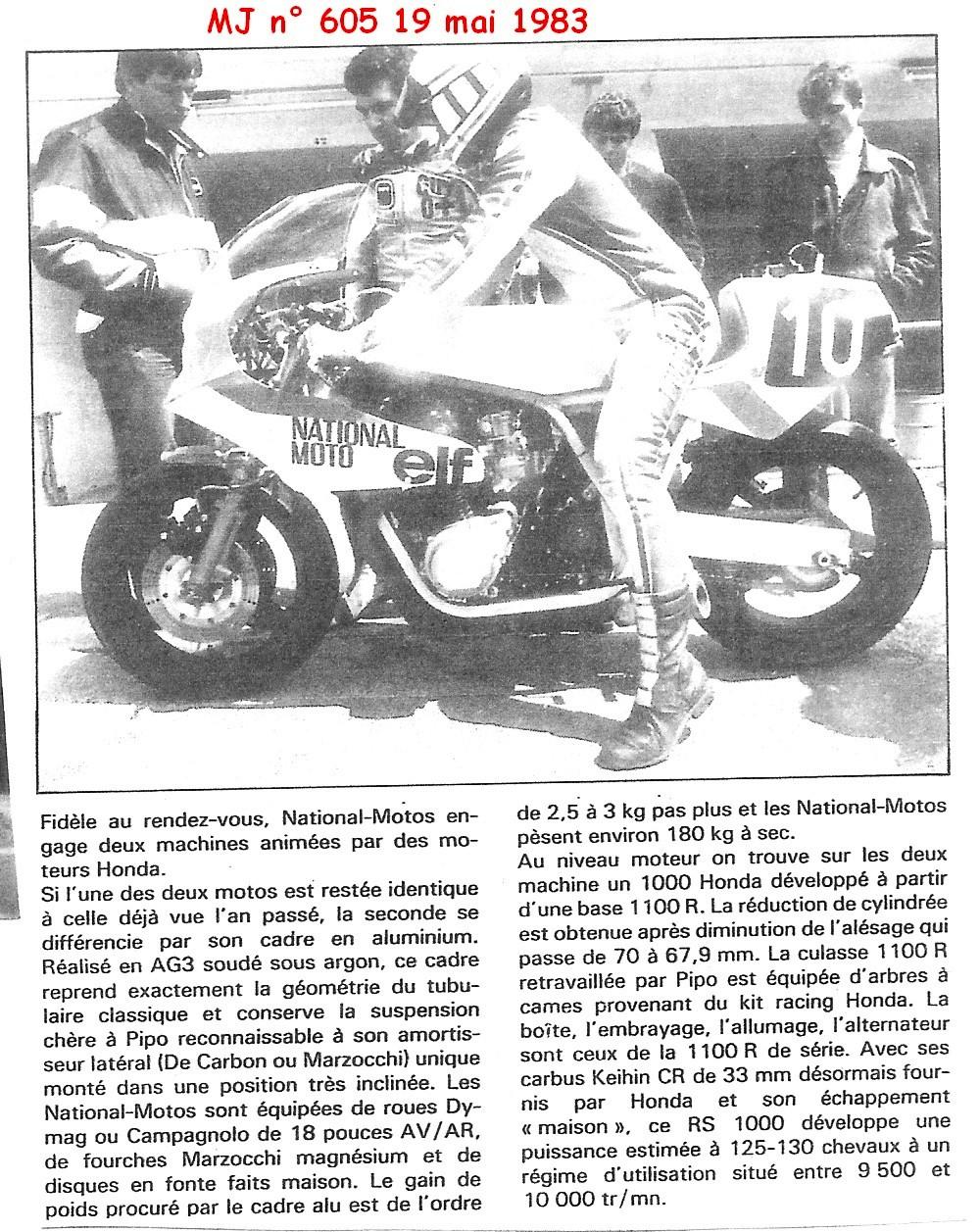 deco  NATIONAL MOTO saison 1983 0210
