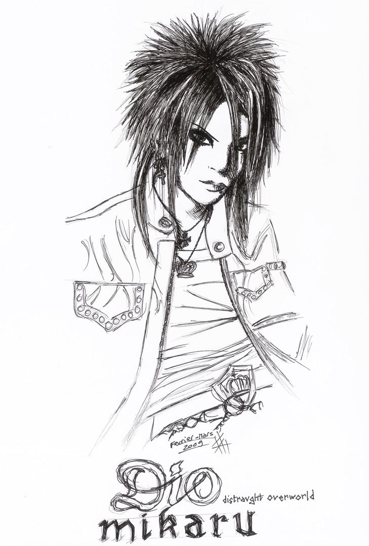 The art of Hizoumie Dio_mi10