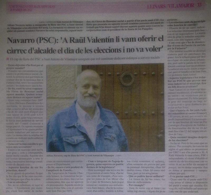 Entrevista Alfons Navarro 24042010