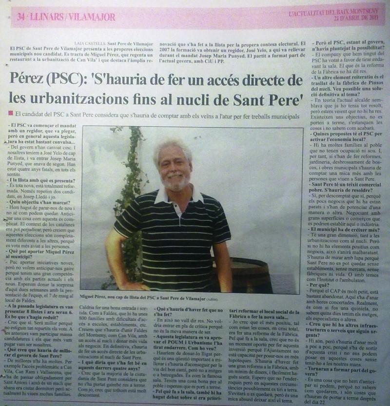 Entrevista  a Miguel Perez 24042014