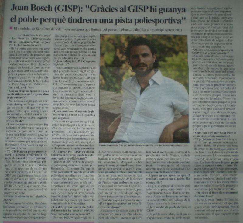 Entrevista a Joan Bosch P5080011