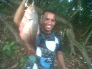 Pesca en los lagos del canal Pocho11