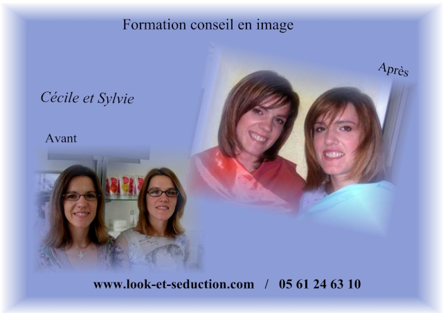 Avant-Après de Cécile et Sylvie Cacile12