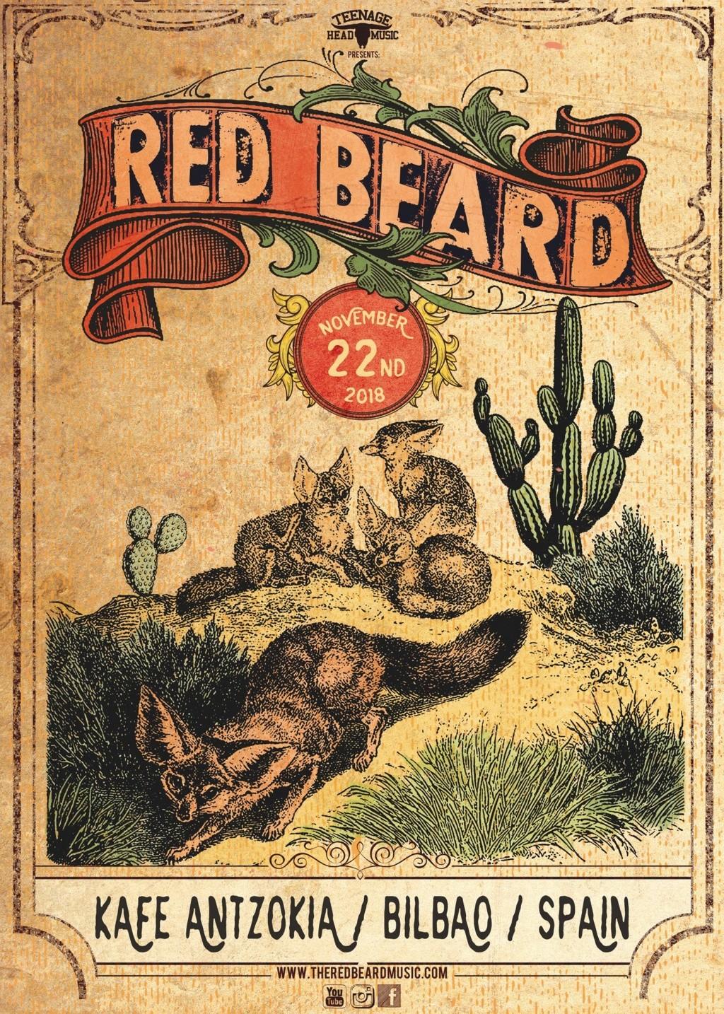Red Beard - Rock sureño desde las Canarias 45426710