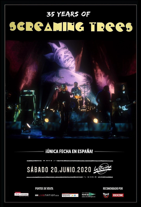 SCREAMING TREES se reúnen y tocaran el 20 de junio en Madrid!!!! Scream11