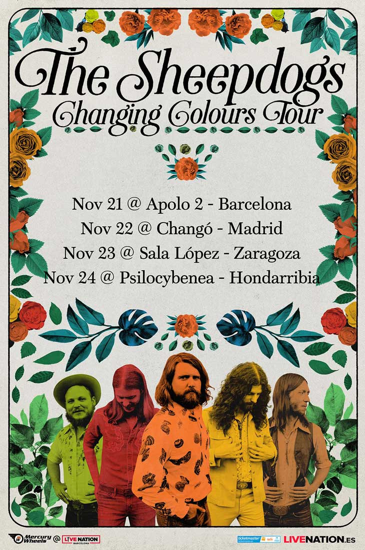 The Sheepdogs - Nuevo disco: Changing colours (2018) - Página 2 The_sh10