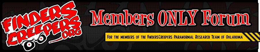 FindersCreepers Team Message Board