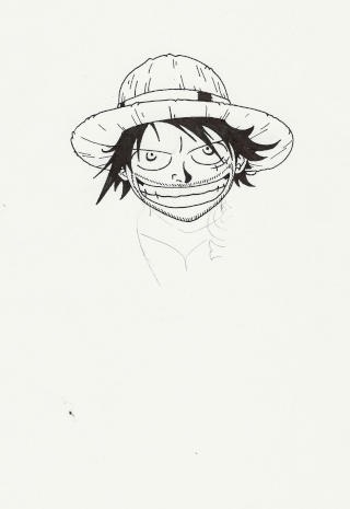 Vos créations - Page 2 Luffy110