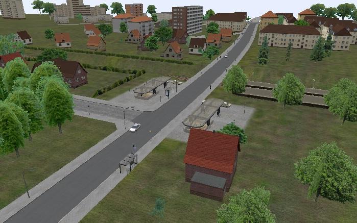 M32 Rathaus Spandau <=> Staaken U_bahn10