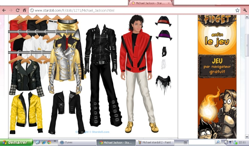 Stardoll, star fame fashion...and Michael!! Michae31