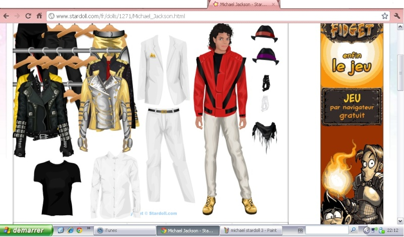 Stardoll, star fame fashion...and Michael!! Michae32