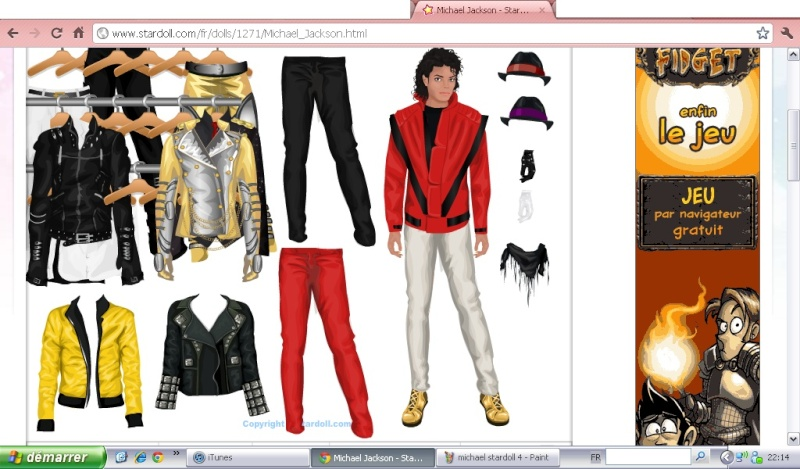 Stardoll, star fame fashion...and Michael!! Michae33