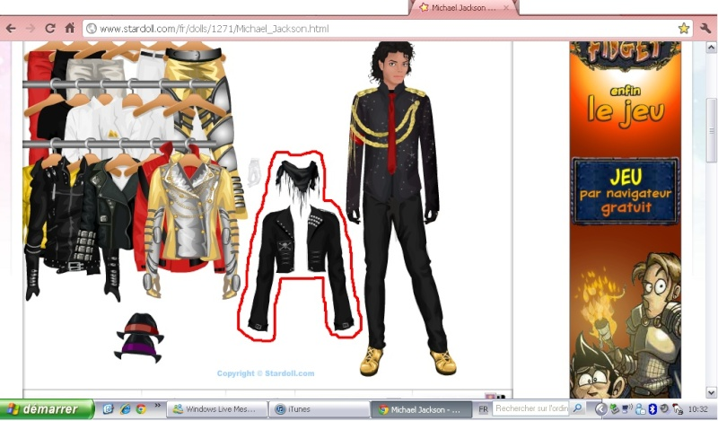 Stardoll, star fame fashion...and Michael!! Michae35