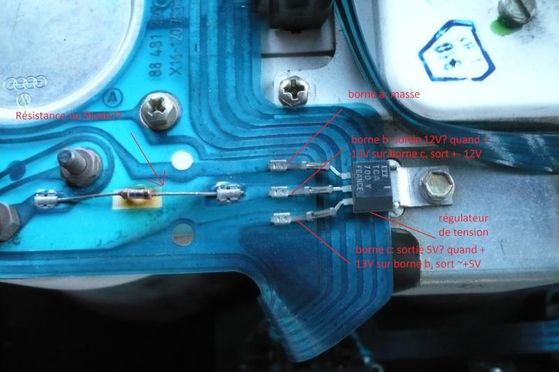 Pb électrique: régulateur de tension jauge diesel et tmp mot P1050711