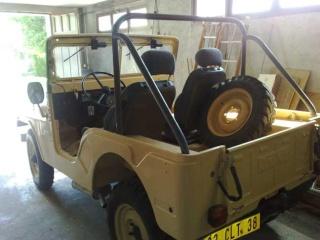 remise en état carrosserie CJ5 1971 16052019