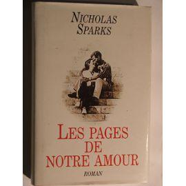 [Sparks, Nicholas] Les pages de notre amour Couver17