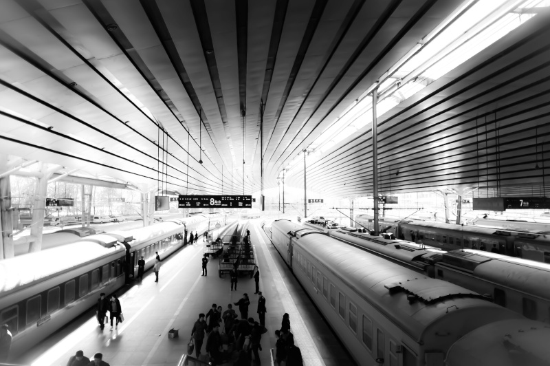 Beijing West Railway Station Train_10