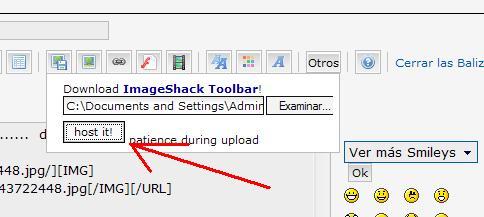Tutorial para subir imágenes Host_i10