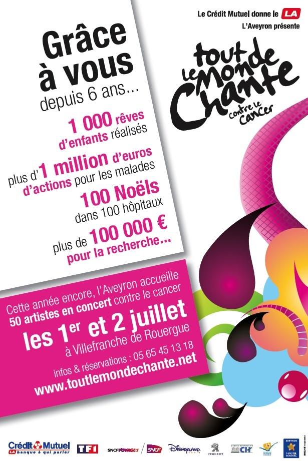 Festival Tout le monde chante contre le cancer - 1-2/07/11 Affich12