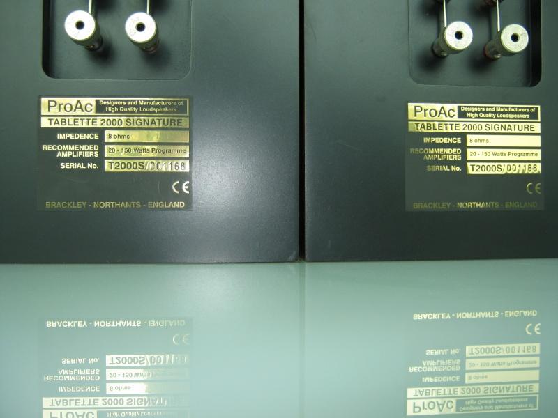 ProAc Tablette 2000 Signature speakers (USED) 01210