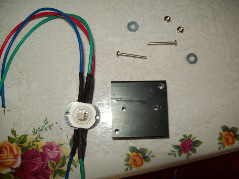 Water proof enclosure for the LED's. 100_0311