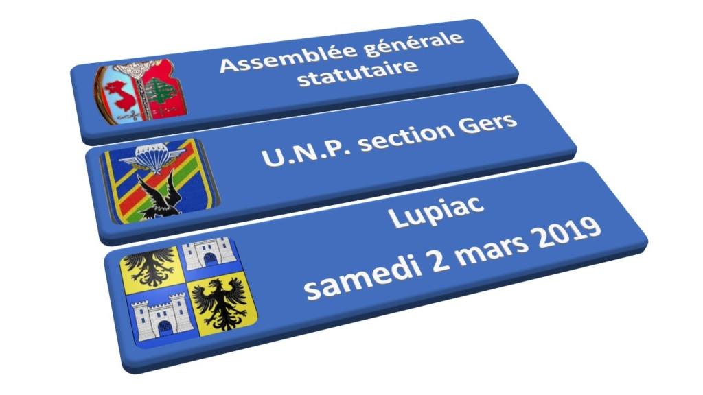 Assemblée Générale 2019 à Lupiac - section Gers Général André Mengelle Diapos10
