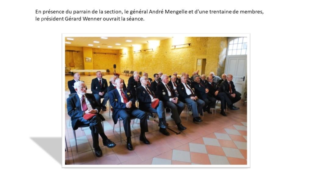 Assemblée Générale 2019 à Lupiac - section Gers Général André Mengelle Diapos12