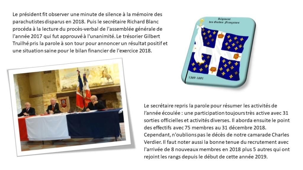 Assemblée Générale 2019 à Lupiac - section Gers Général André Mengelle Diapos14