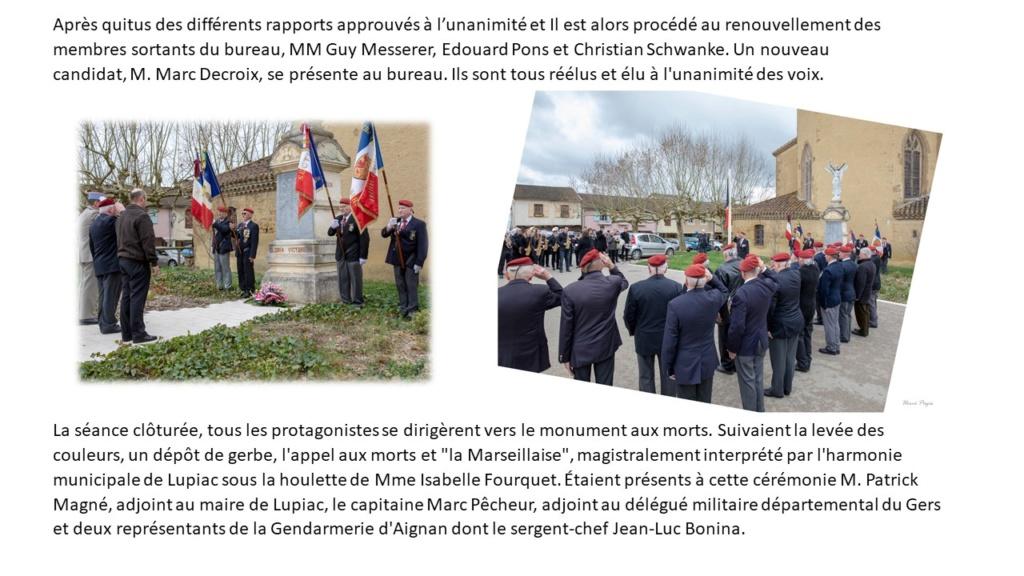 Assemblée Générale 2019 à Lupiac - section Gers Général André Mengelle Diapos16