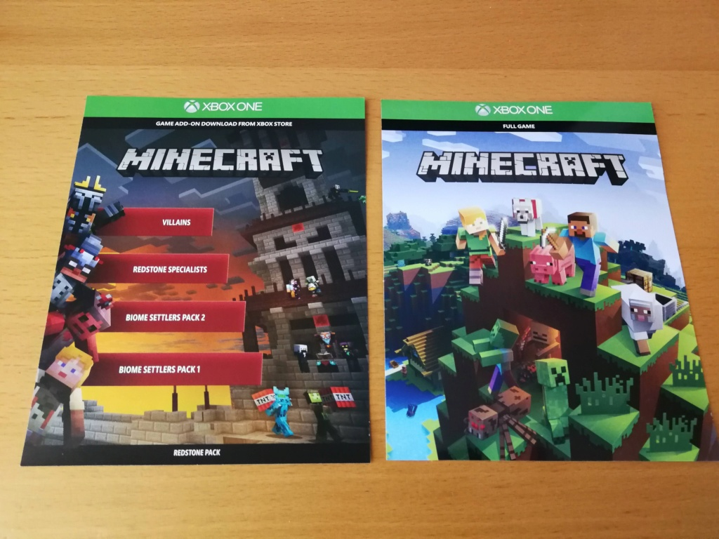 [VDS] Minecraft + Pack DLC Redstone - Xbox One  Img_2012