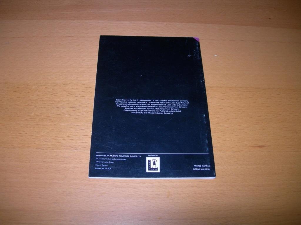 [VENDUS] Jeux SNES, N64, Notices  Notice12