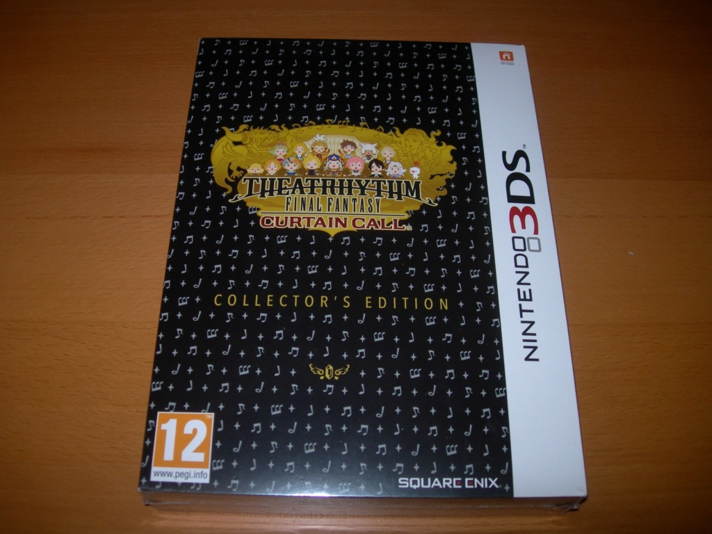 [VENDU] Theatrhythm Final Fantasy Curtain Call - 3DS (Neuf) - édition Collector -  Theatr10