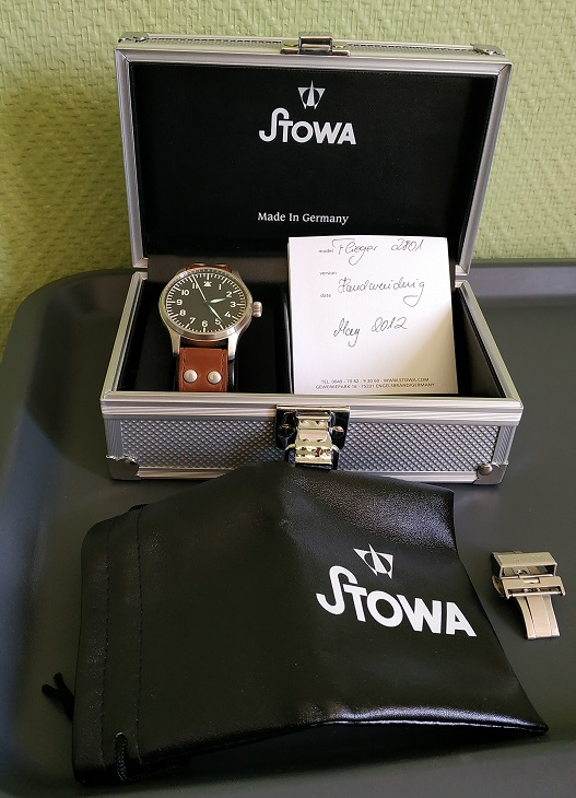 stowa - [Baisse de prix][Vends] STOWA Flieger classique no logo no date Photo110