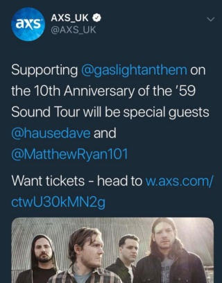Europe/UK Tour 2018 Axs-tw11